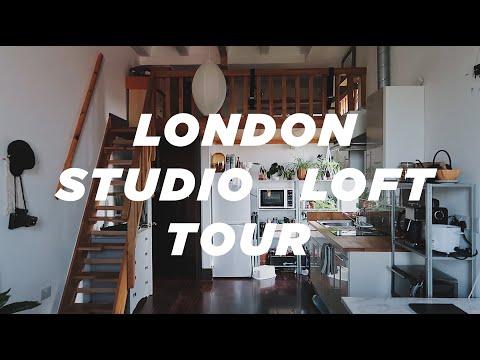 London micro cosy studio loft apartment tour | 355 sqft 33sq