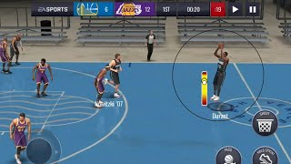 THE BEST 3 POINT SHOOTERS TEAM GAMEPLAY IN NBA LIVE MOBILE 20!!!