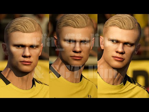 Fifa20 Erling Haaland Dortmund Real Face Mod By Sgt Kim Youtube