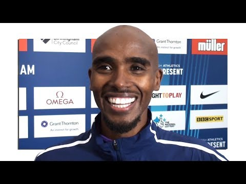 Mo Farah Interview After His Last Ever Track Race In The UK