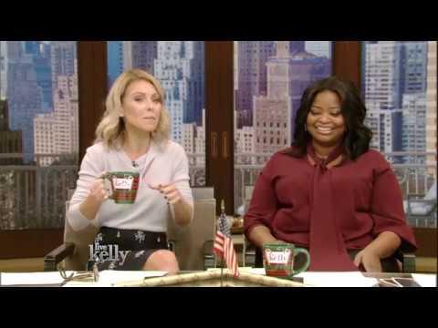 Kelly and Octavia Spencer Talk Christmas Shopping