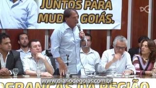 Grupo do MDB realiza evento em apoio a candidatura de Caiado