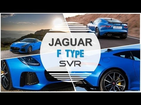Wow!! Jaguar F type SVR Interior