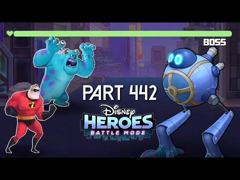 Disney Heroes Battle Mode BOSS DESTROYER PART 441 Gameplay Walkthrough - IOS / Android