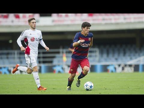 Highlights Youth League Barça-Bayer Leverkusen (1-1)