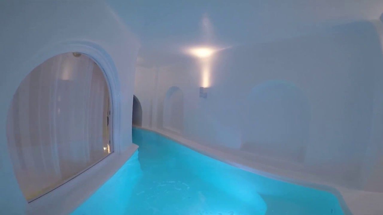 dana villas santorini the world s most perfect plunge pool youtube