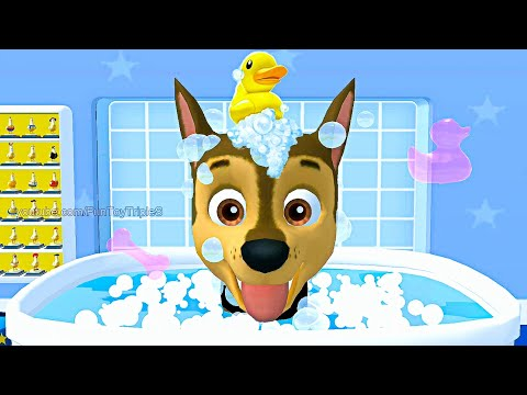 paw-patrol:-a-day-in-adventure-bay---chase-#9-mighty-pups-mission