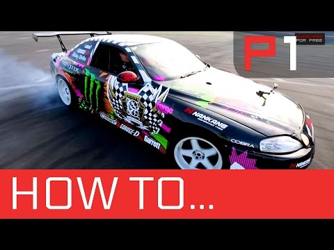 How to drift - pro lesson with Monster Energy driver