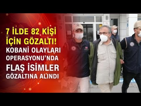 82 şüpheliden Sırrı Süreyya Önder ve HDP'li vekiller gözaltına alındı!