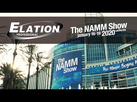 Elation Professional - Artiste Series at NAMM2020