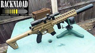 видео Пневматическая винтовка SIG Sauer MCX-177-BLK-R (цвет черный, коллиматор)