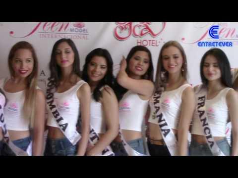 """MISS TEEN MODEL INTERNACIONAL 2016 - CONFERENCIA DE PRENSA. POR: """"ENTRETEVER"""". ¡Tu Canal Virtual!. thumbnail"""