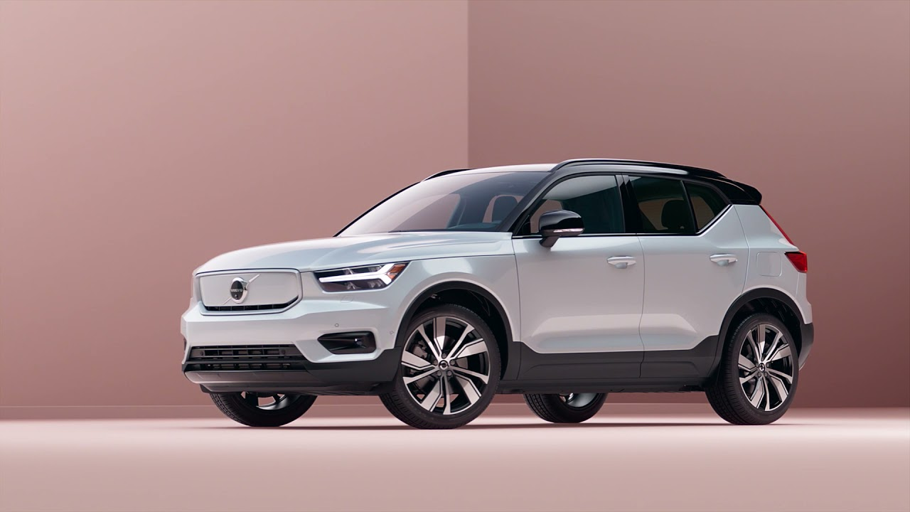 The Volvo XC40 Recharge Pure Electric