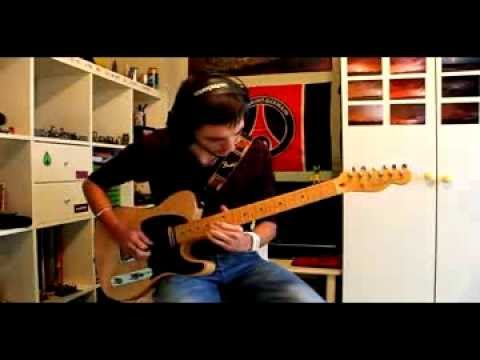 Pink Floyd On The Turning Away Guitar Cover Youtube