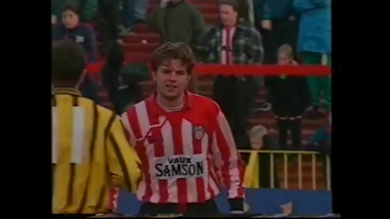Sunderland vs Port Vale - 4 Feb 1995 - YouTube