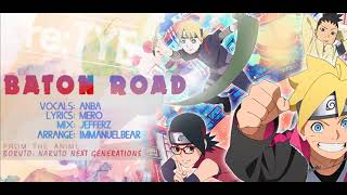 34 Baton Road 34 English Cover Boruto OP feat