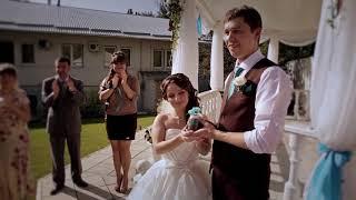 Выездная регистрация. 2х камерная съемка.  #свадебный клип