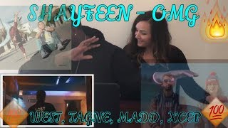 SHAYFEEN - OMG ft. WEST, TAGNE, MADD, XCEP (Prod. by Hades)(REACTION)