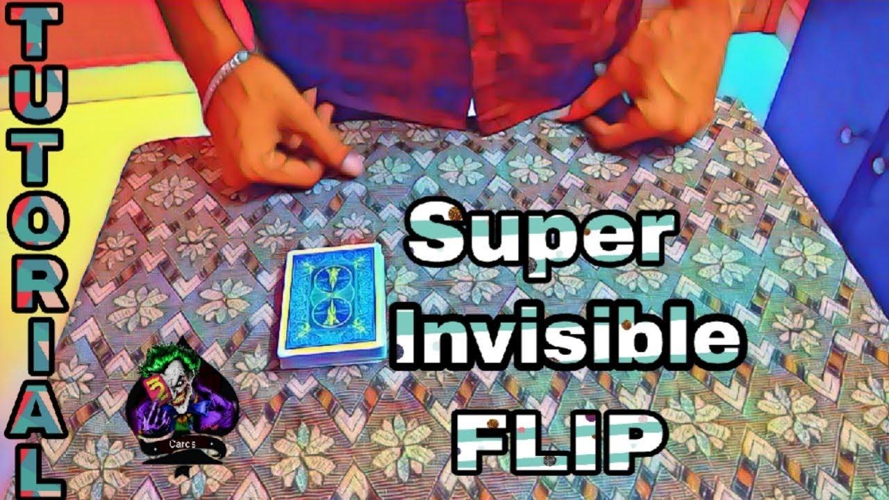 super invisible flip card tricktutorial52 cards tamil