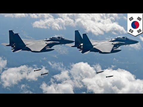 Korea Selatan, Jepang dan Amerika menununjukkan kekuatan udaranya - TomoNews