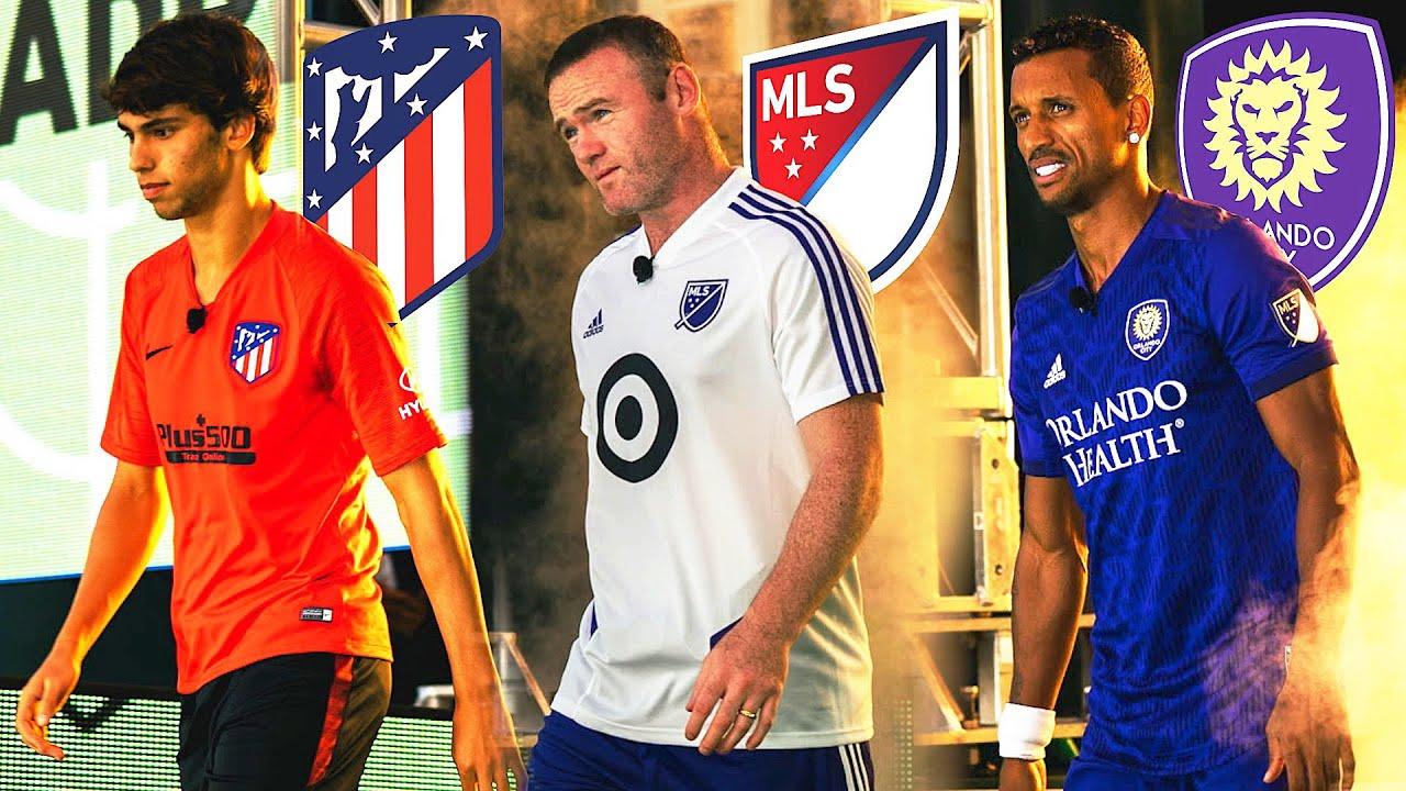 JOAO FELIX VS ROONEY VS NANI | MLS ALL STAR SKILLS CHALLENGE ⚽????????