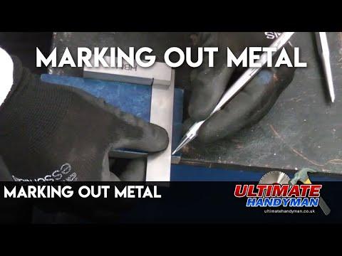 Marking out metal