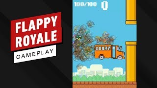 Flappy Royale Win Gameplay (Flappy Bird Meets Battle Royale)
