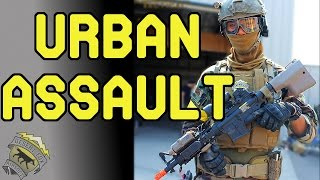 Urban Assault Squad at Integrity Tactical Solutions | Jet DesertFox with Levelcap Gaming (MK18 AEG)