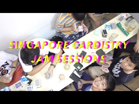Singapore Cardistry Jam Session 07 October 2017