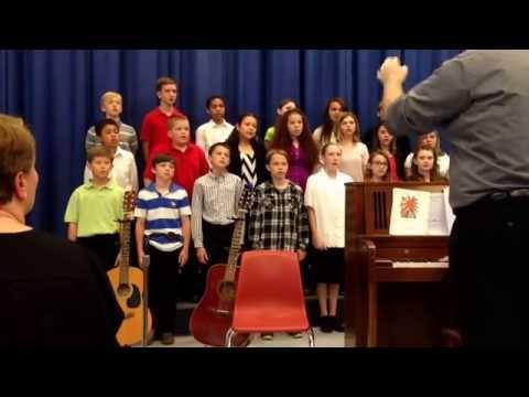 Non Nobis, Silk Hope School 6 Chorus, 05/21/2015