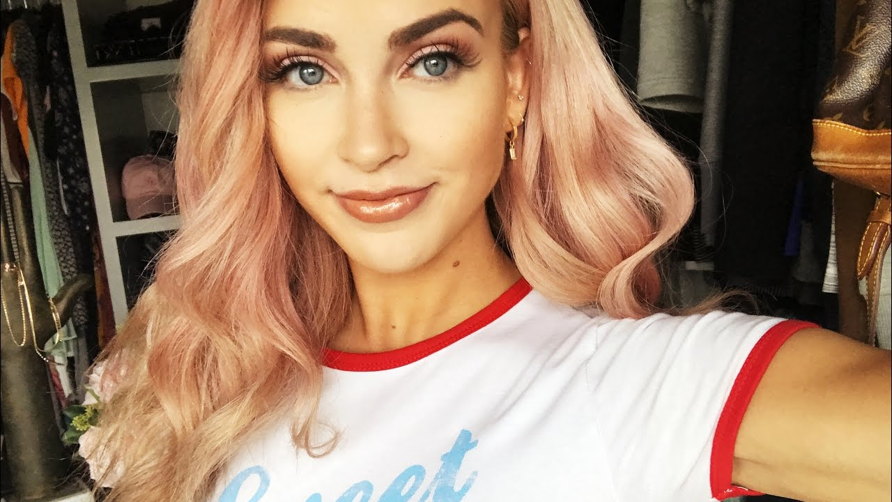Full Face Makeup Look With Cara Loren Youtube