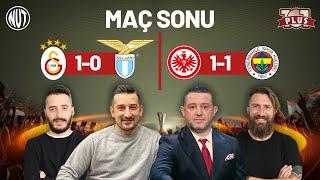 E. Frankfurt 1 - 1 Fenerbahçe | Galatasaray 1 - 0 Lazio | UEFA Avrupa Ligi |