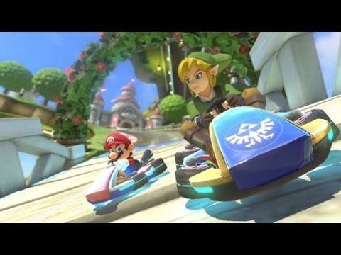 Mario Kart Zelda and Animal Crossing DLC