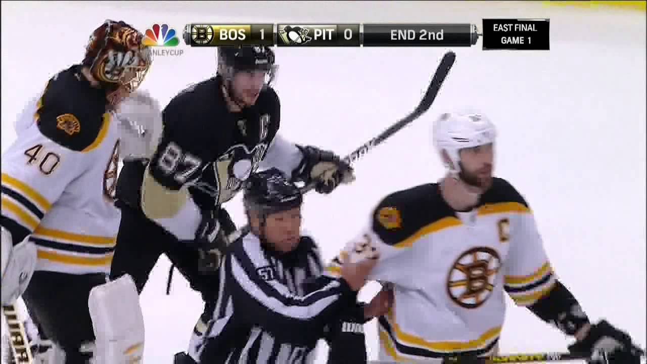 super popular 3e941 728e7 Last 30 secs of 2nd, Malkin Bergeron fight June 1 2013 Boston Bruins vs  Pittsburgh Penguins NHL