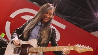 NAMM 2018 | Lari Basilio Live At The Dunlop Booth-Pt 2