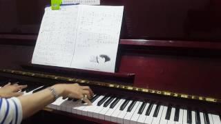 """看淡-1(電視劇""""一把青""""片頭曲)~張晴媛~鋼琴教學"""