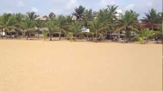 Guided tour in Negombo Beach - beach and town, 2013