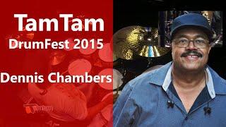 Dennis Chambers - TamTam DrumFest Sevilla 2015 - Pearl Drums, Zildjian Cymbals, & Evans