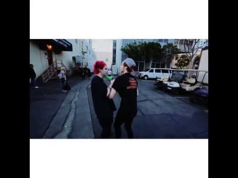 Michael Clifford And Luke Hemmings Hugging