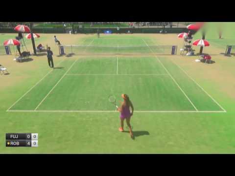 Fujiwara Rika v Robson Laura - 2017 ITF Kurume