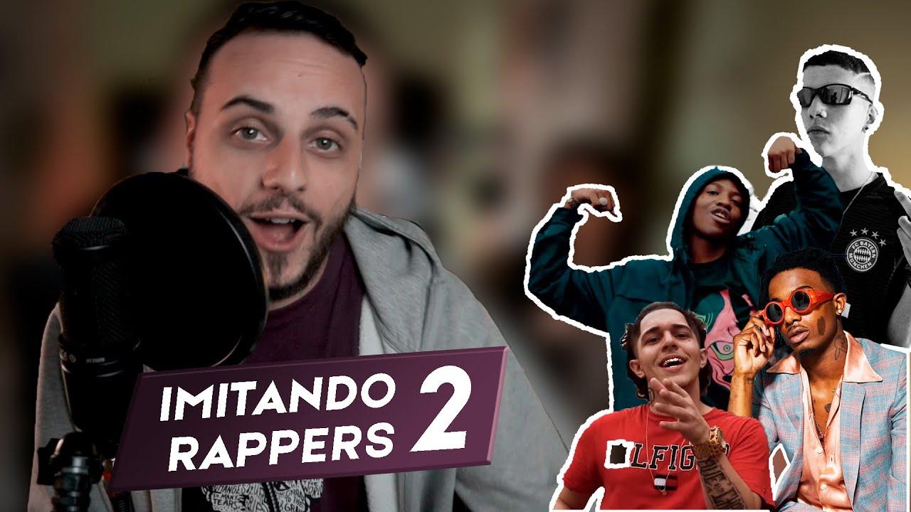 😂 IMITANDO RAPPERS #2 - NGC Daddy | Sidoka | Flacko