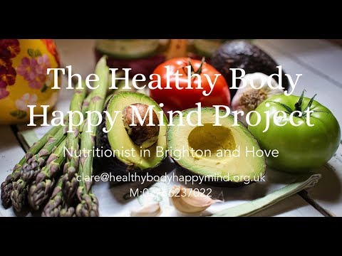 Healthy Body Happy Mind Project bespoke nutrition and healthy living programmes