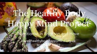 Healthy body happy mind project bespoke ...