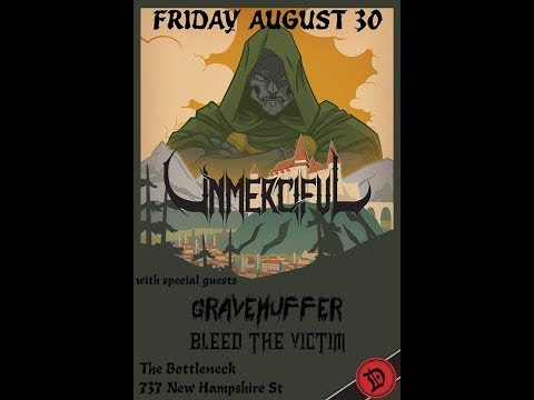 Gravehuffer - Live at The Bottleneck - Lawrence, Kansas - 8-30-19
