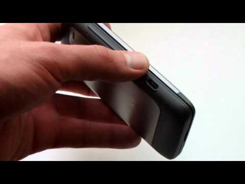 HTC Desire Z эргономика.AVI