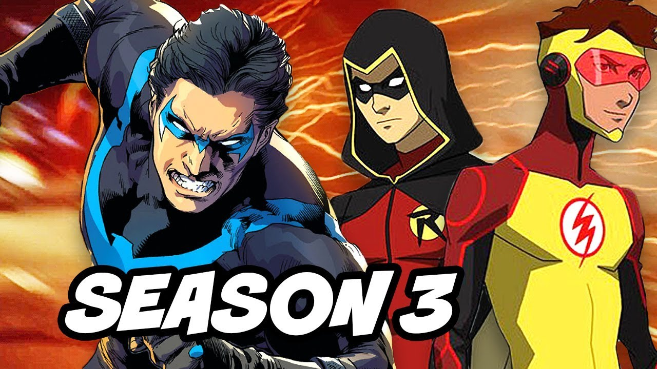 Young Justice Season 3 Episodes Release Date Confirmed and ...