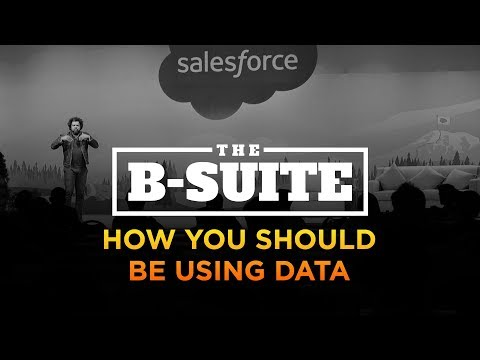 How You Should Be Using Data | The B-Suite