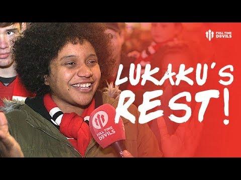 LUKAKU'S PROPER REST! Manchester United 2-1 Everton
