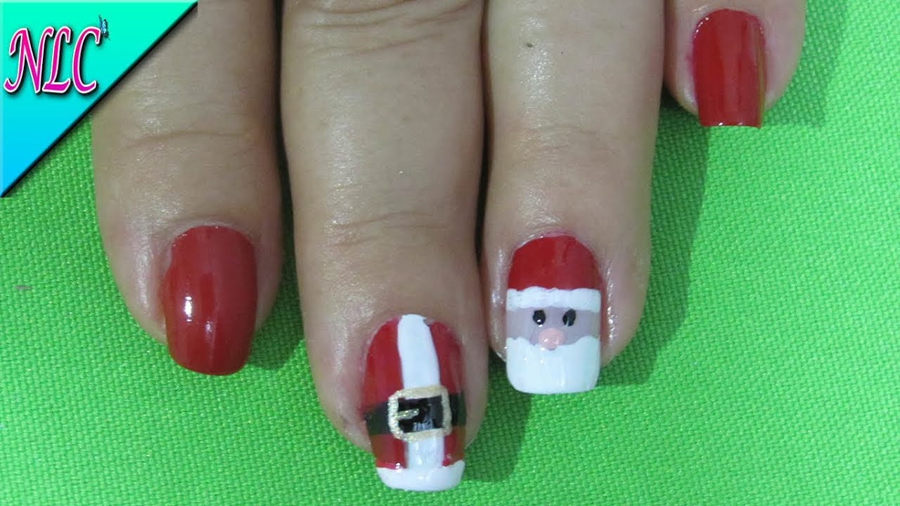Fantástico Uñas De Navidad Friso - Ideas de Pintar de Uñas ...