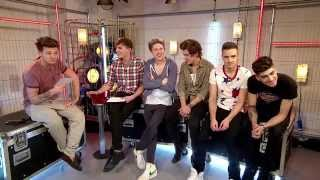 One Direction New Exclusive Interview (1D Doing Challenges & Impressions) April 16th 2013
